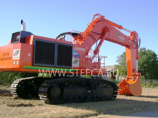 HITACHI EX1200 BACKHOE
